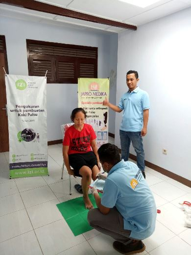 Program Kaki Palsu Gratis Bersama IZI Yogyakarta 9