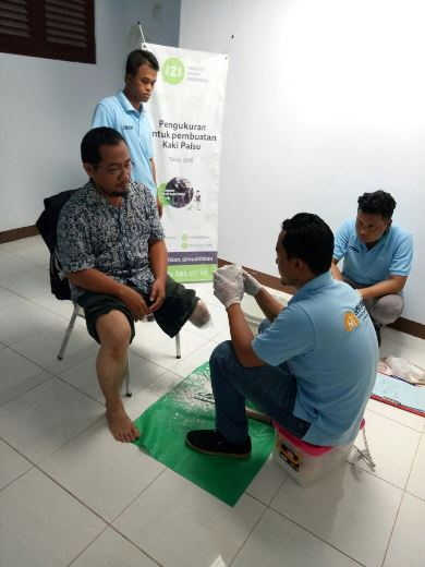 Program Kaki Palsu Gratis Bersama IZI Yogyakarta 6