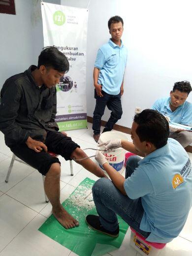 Program Kaki Palsu Gratis Bersama IZI Yogyakarta 5