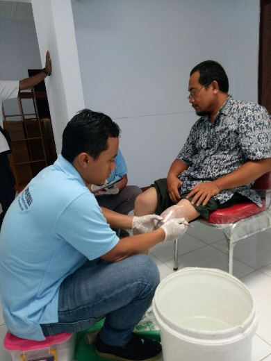 Program Kaki Palsu Gratis Bersama IZI Yogyakarta 2