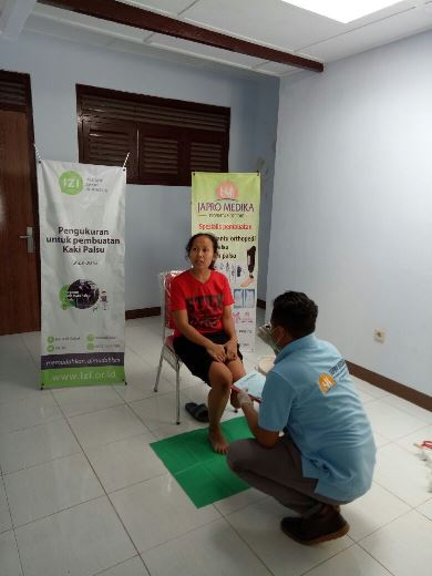 Program Kaki Palsu Gratis Bersama IZI Yogyakarta 1