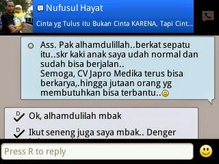 Testimoni - Ibu Nufusul Hayat Jakarta 1