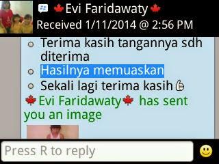 Testimoni - Ibu Evie Kalimantan 3